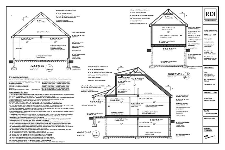 Foundation plan details pictures to pin on pinterest for Foundation plan drawing